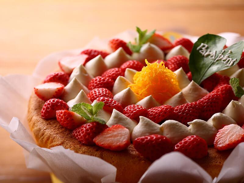 ミーニョ地方パォンデローのバースデーケーキ