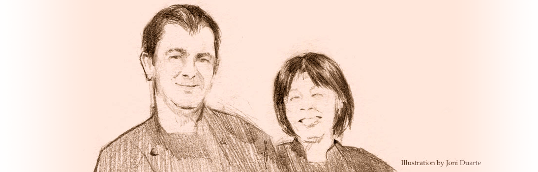 Paulo and Tomoko