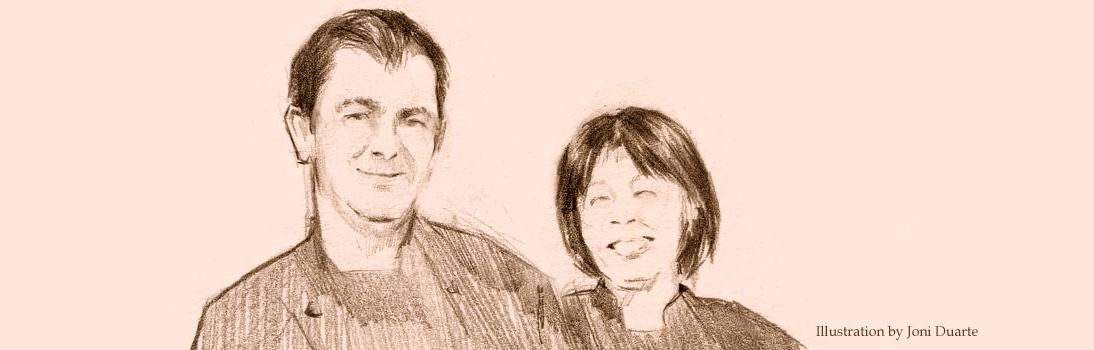 Paulo and Tomoko